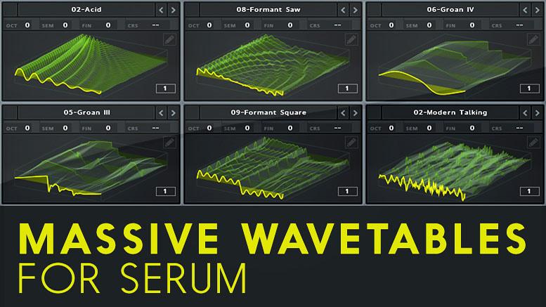 Massive Wavetables For Serum - Serum - TriSamples