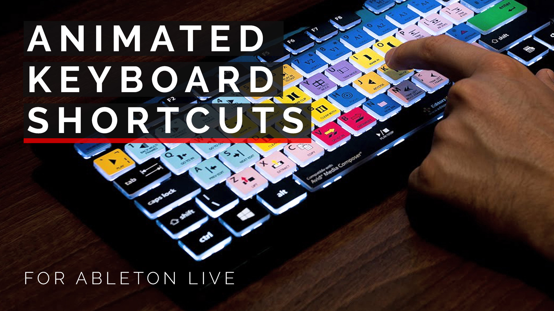 "Featured image for ""Live Animated Shortcut Keys"""