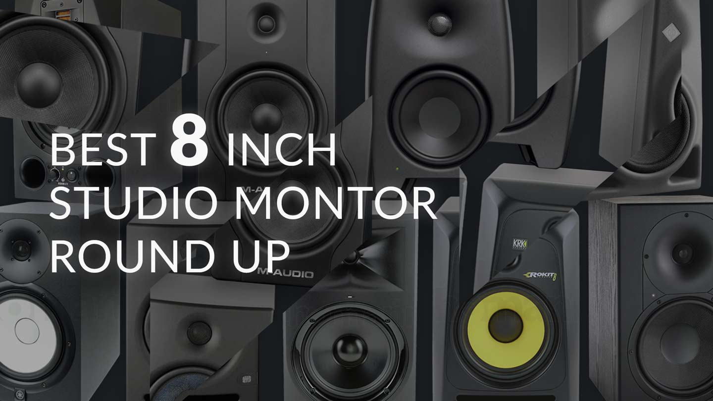 "Featured image for ""Best 8 Inch Studio Monitors"""