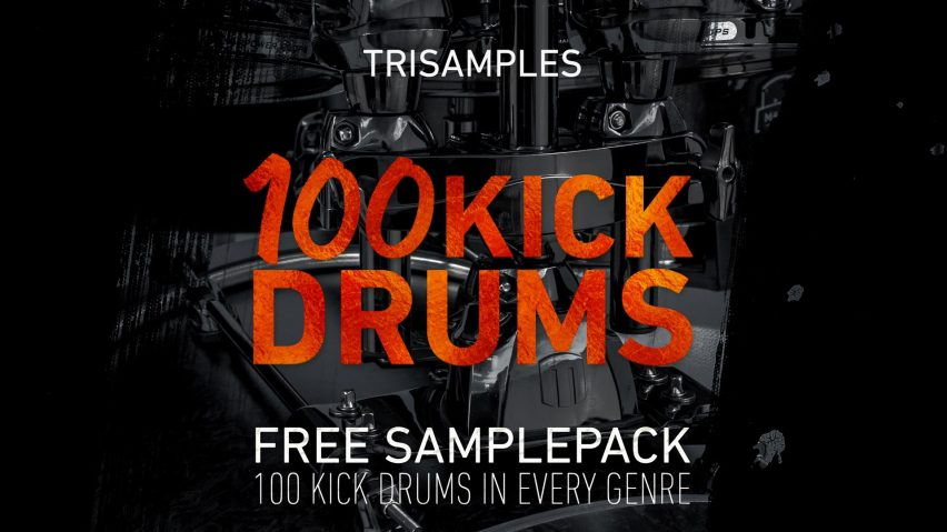 100 Kick Drums Vol 1 - Free Downloads - TriSamples