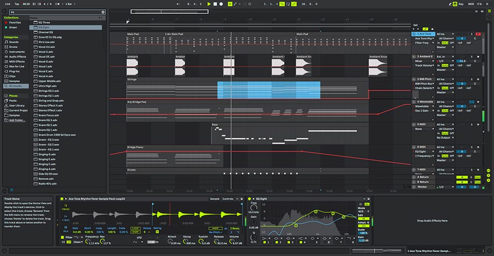 Ableton Live 10 Dark theme by Gowers
